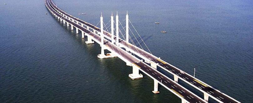 Maior Ponte do Mundo - Ponte Qingdao Haiwan