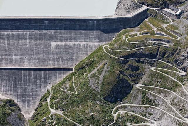 Barragem Grande Dixence Dam - Suíça