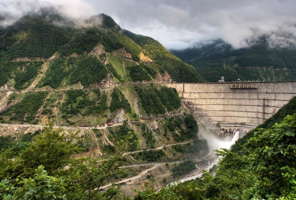 Barragem Inguri Dam - Georgia