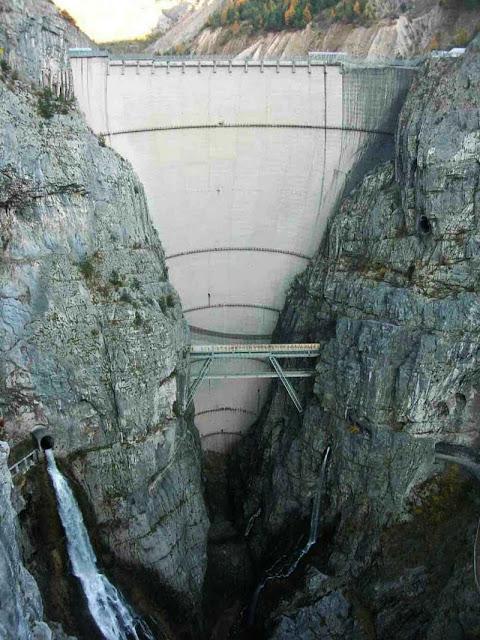 Barragem Vajont Dam - Itália