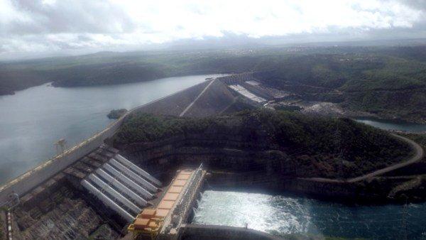 Barragem de Xingó e Usina Hidrelétrica de Xingó