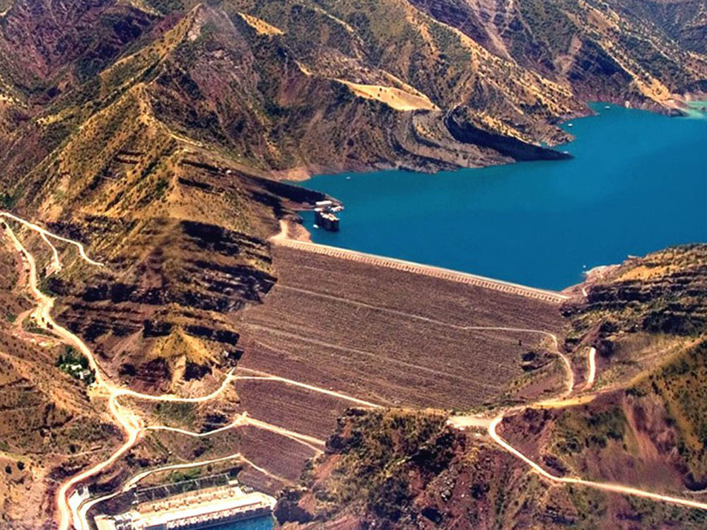 Barragem Nurek Dam - Tajiquistão
